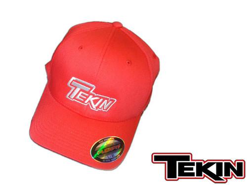 Tekin FlexFit Hat SM/M RED