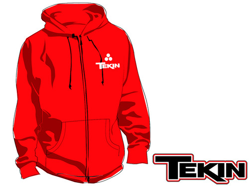 Fuzion2 Zip-Up Hoodie - RED