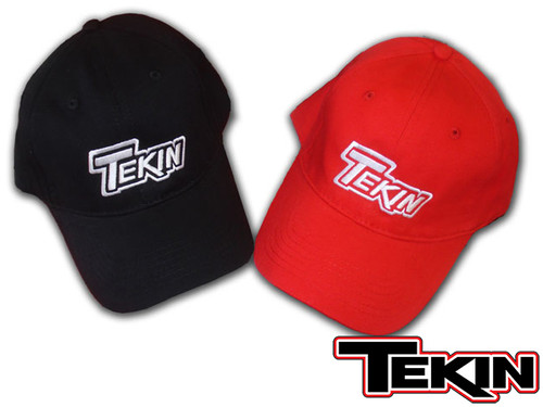 Tekin Logo Hat BLACK