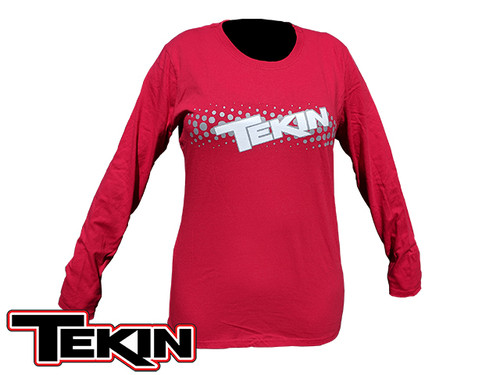 Fuzion2 Women's Long Sleeve Red