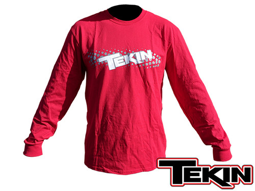 Fuzion2 T-Shirt Long Sleeve Red