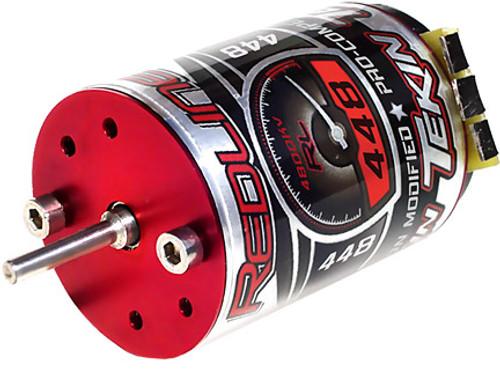 Redline Sensorless 448 4800KV 1/10 Brushless Motor