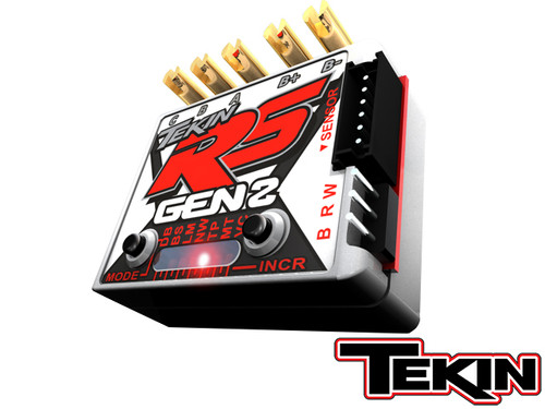 RS GEN2 1/10 Sensored Brushless/Brushed ESC