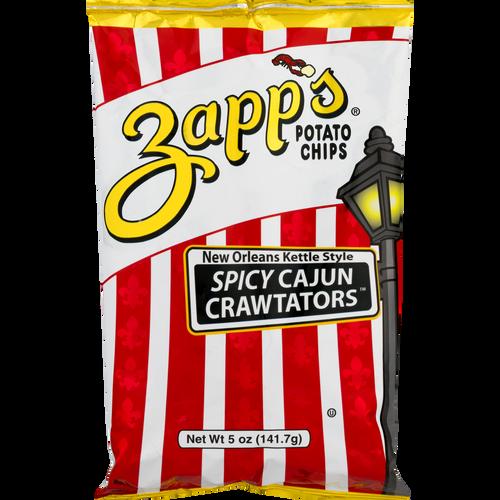 Zapp's Kettle Potato Chips, Spicy Cajun Crawtator (2 / 5 oz.)
