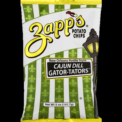 Zapp's Kettle Potato Chips , Cajun Dill Gator-tator (2/ 5oz.)