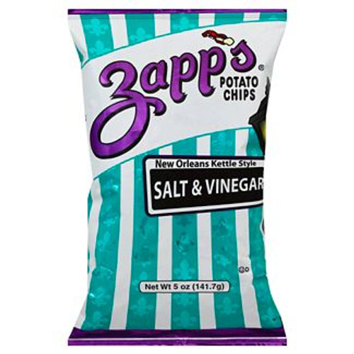 Zapp's Kettle Potato Chips, Salt & Vinegar (2 / 5oz. )