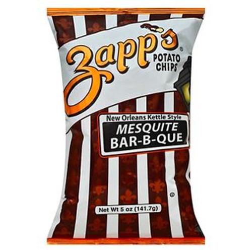 Zapp's Kettle Potato Chips , Mesquite BBQ (2 / 5oz. )