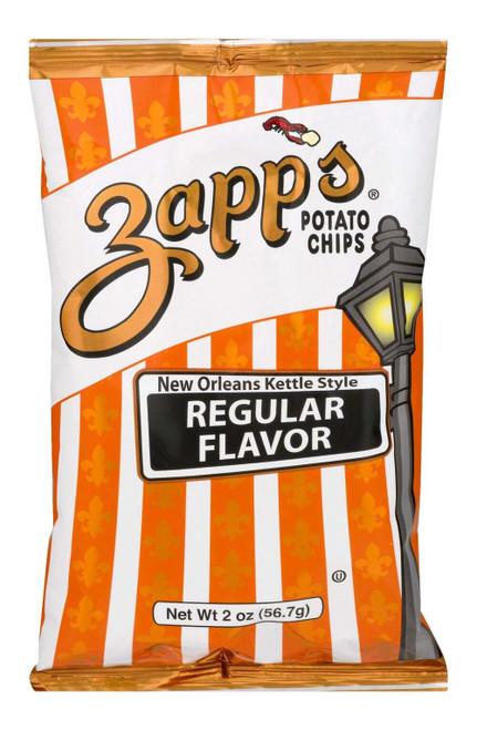 Zapp's Kettle Potato Chip, Regular Potato Chips(2 pack ) 2.625oz.