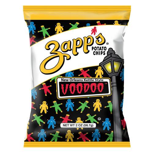 Zapp's Kettle Potato Chips, Voodoo (2 pack ) 2.625oz.