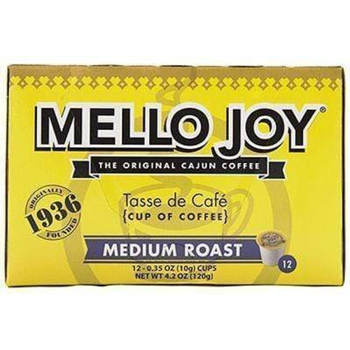 Mello Joy Medium Roast Coffee ,Single Serve Cups, Box 12