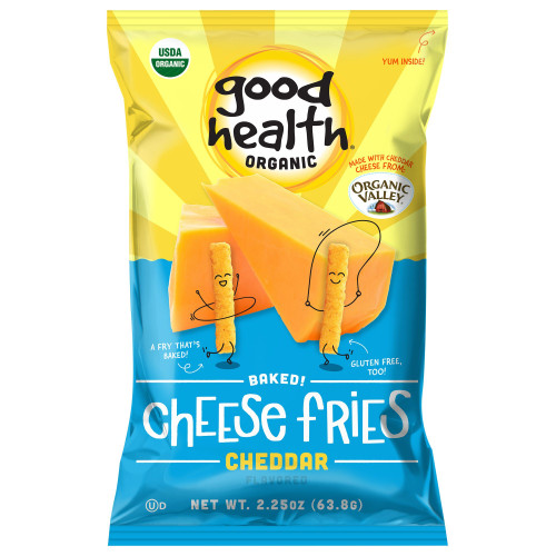 Good Health® Organic Baked Cheese Fries, Cheddar ( 2 pack ) 2.25oz.