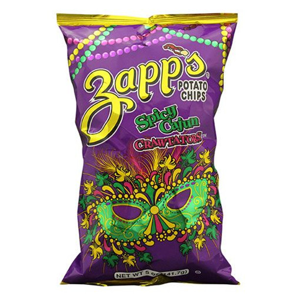 Zapp's Kettle Potato Chips , Mardi Gras ( 2/ 5oz. )