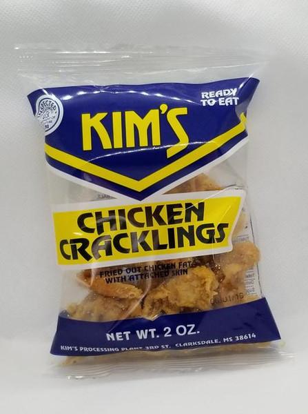 Kim's Chicken Cracklings ( 3 pack of 2oz.  )