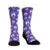 Orlando Pride All Over Pattern Sock Purple