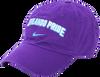 Nike Wordmark Campus Hat Purple