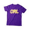 ALLforORL Unisex Purple & Gold Tee