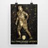 Ashlyn Harris Golden Glove Statue Poster
