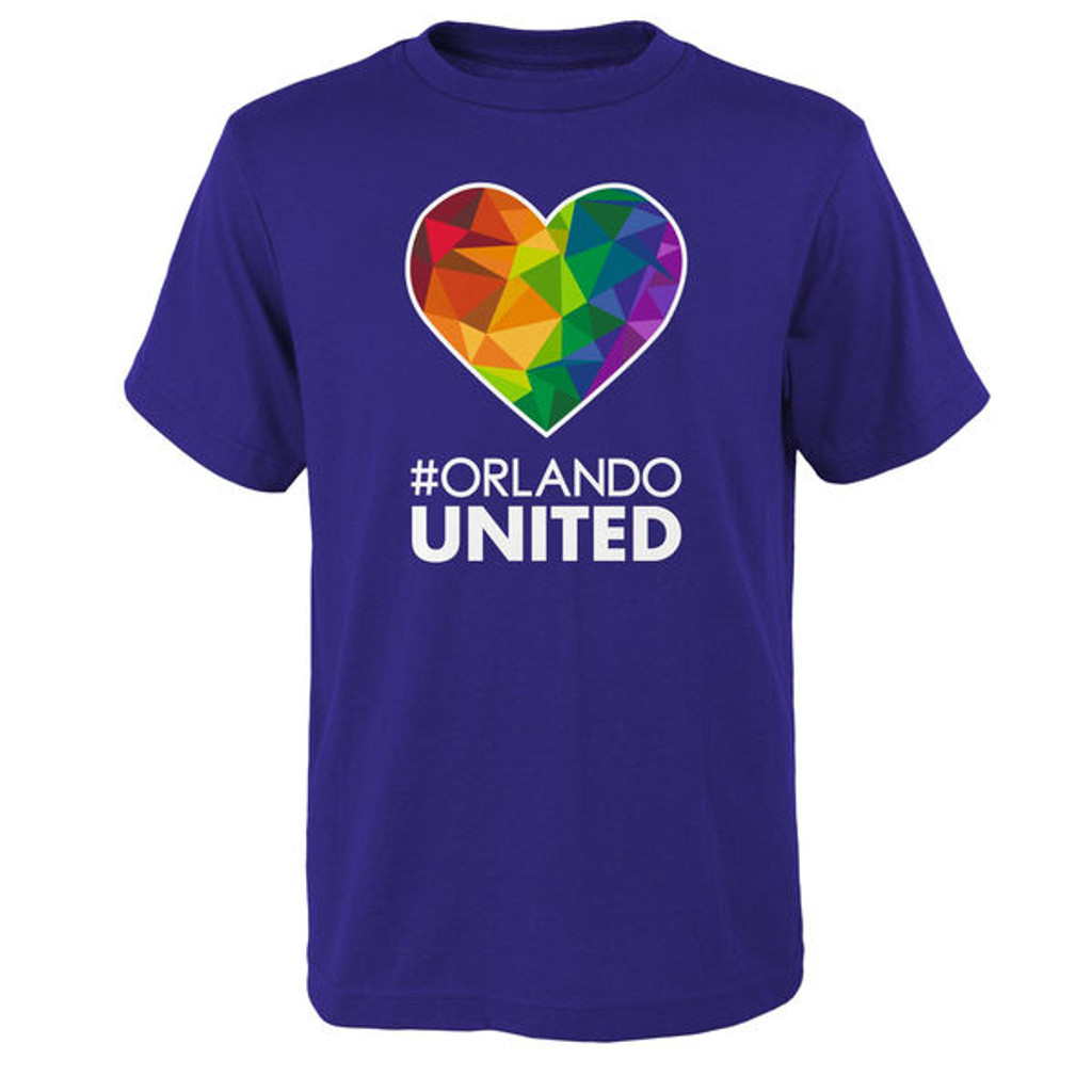 Orlando United Tee Purple