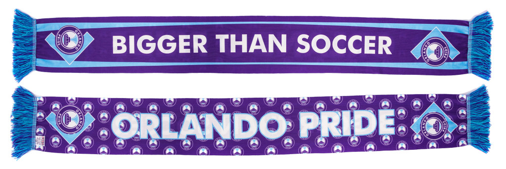 Bigger Than Soccer All Over Scarf