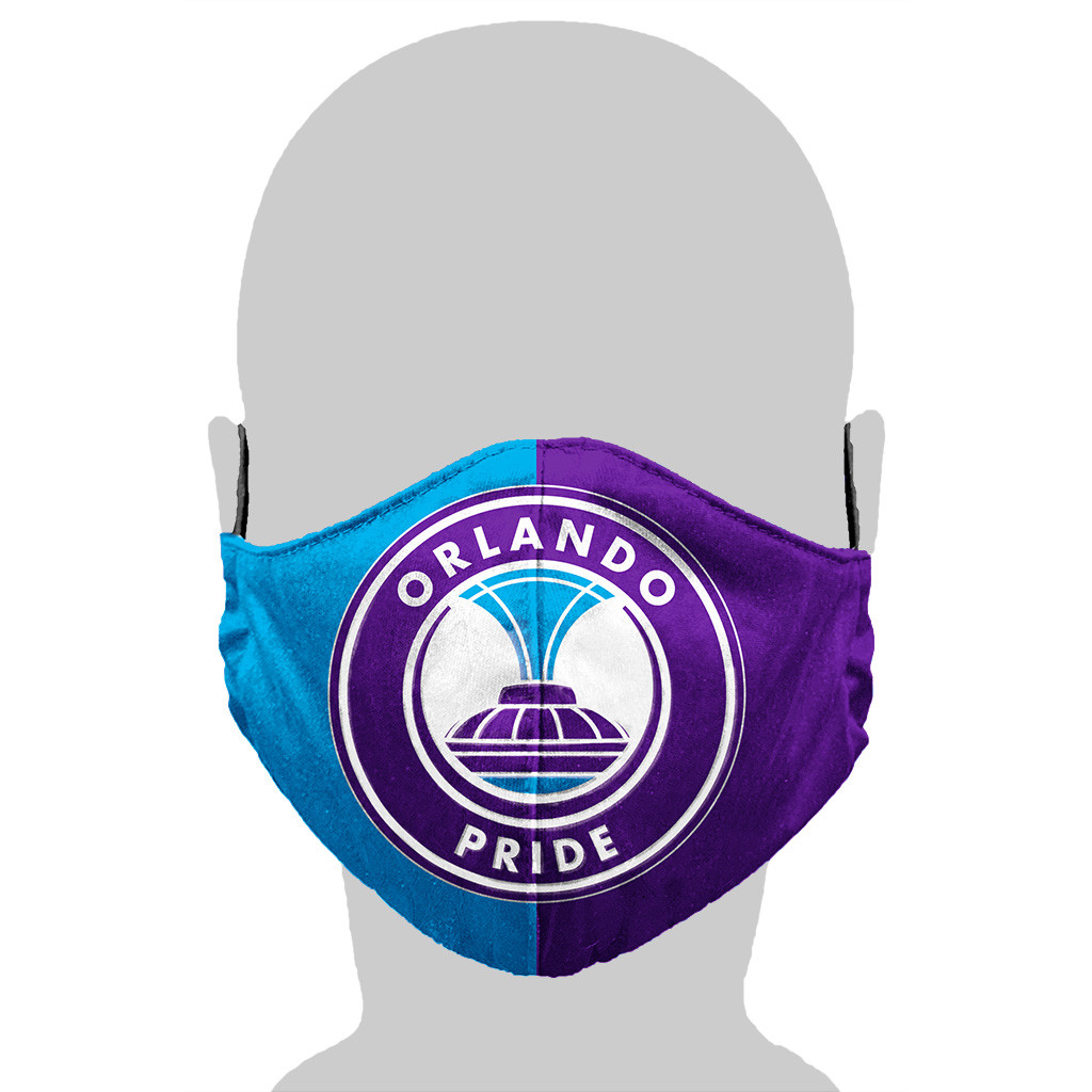 Orlando Pride Split Color Face Mask
