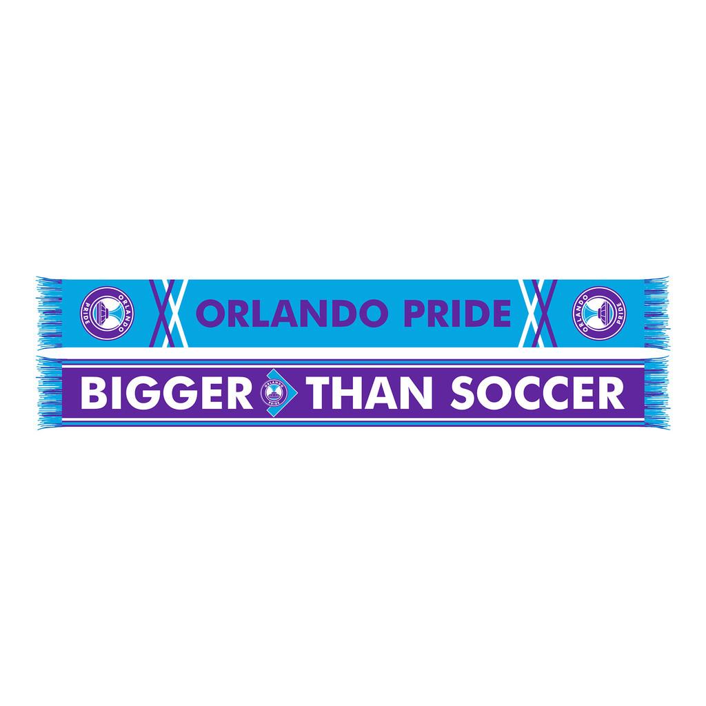 Bigger Than Soccer Cross Hatch Scarf
