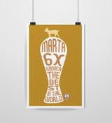 Marta G.O.A.T Poster