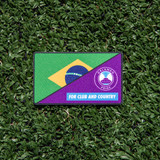FOR CLUB AND COUNTRY PATCH-BRAZIL