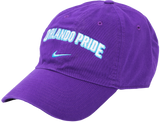 Nike Wordmark Campus Hat Purple
