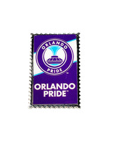 Orlando Pride Stamp Pin