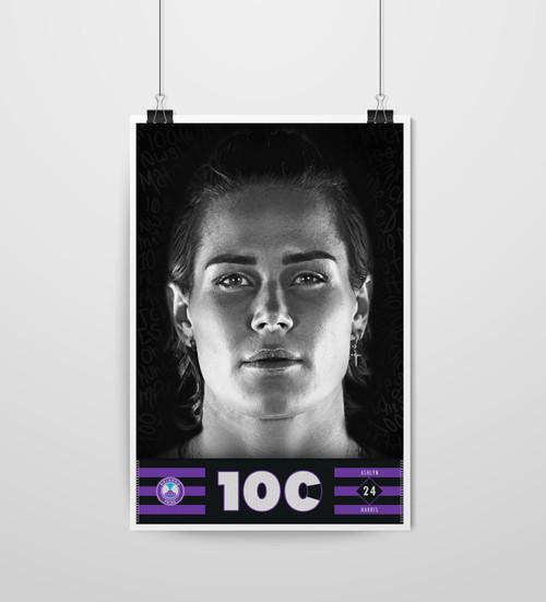 Ashlyn 100 Caps Poster