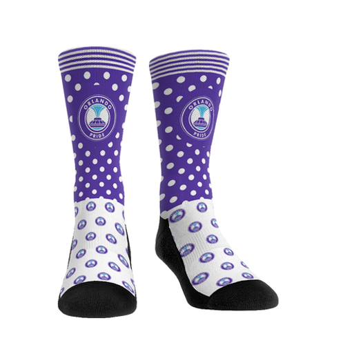 Orlando Pride Polka Dot Sock