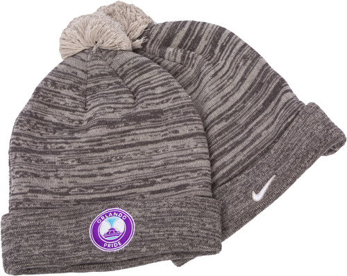 Nike Swoosh Pom Knit Beanie