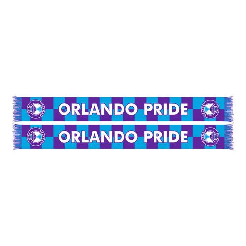 Orlando Pride Checkered Scarf