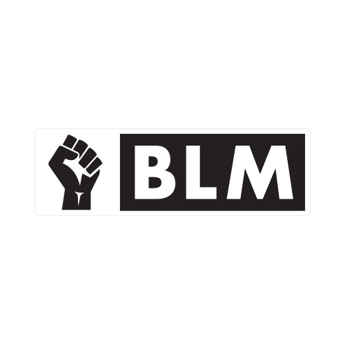 Black Lives Matter Horizontal Patch