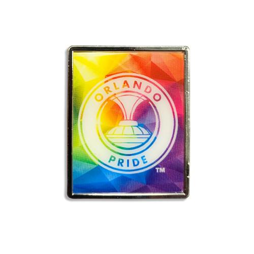 Orlando Proud Rectangle Lapel Pin