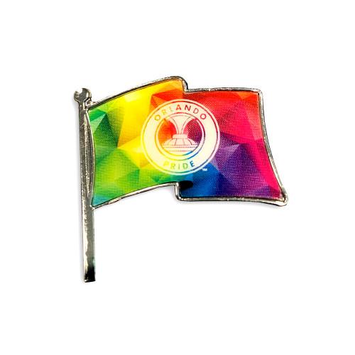 Orlando Proud Flag Lapel Pin