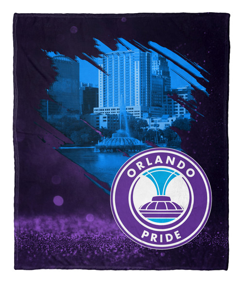 Orlando Pride Silk Touch Throw Blanket