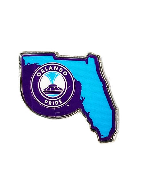 Orlando Pride State Pin