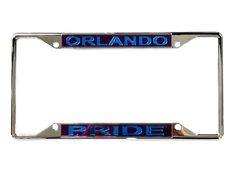 Orlando Pride License Plate Frame