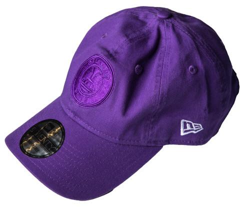 920 New Era Dad Hat Purple Tonal