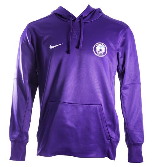 Nike Therma Hoodie Purple
