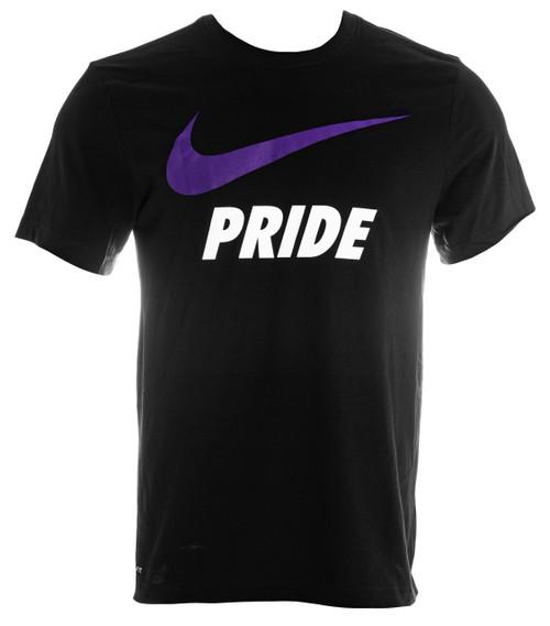 Unisex Nike Swoosh Tee Black