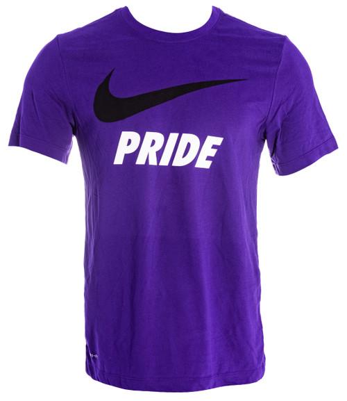 Unisex Nike Swoosh Tee Purple