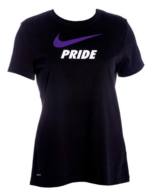 Women's Nike Swoosh Tee Black
