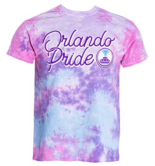 Orlando Pride Cotton Candy Tie Dye Tee