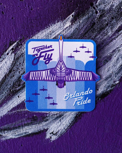 Together We Fly Patch