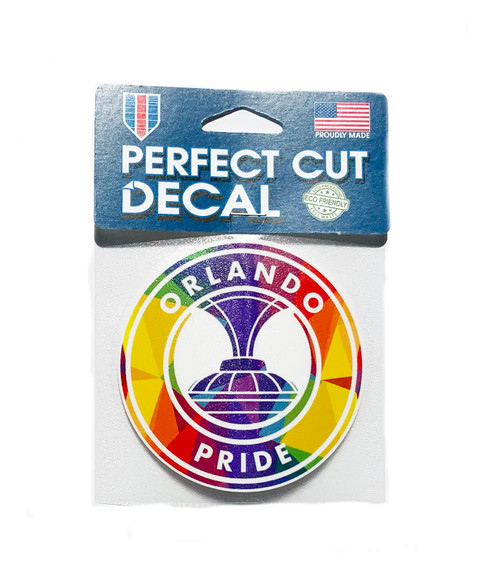Orlando All Proud Perfect Cut Decal