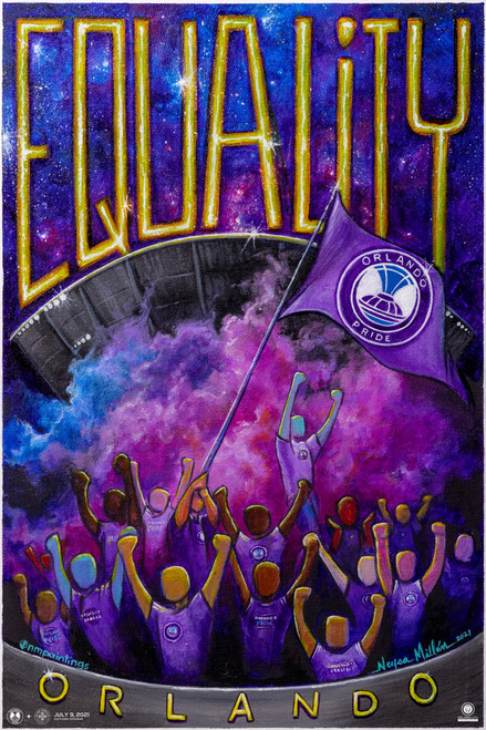 Orlando Pride Mission Equality Poster