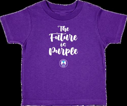 Orlando Pride Future is Purple Toddler Tee