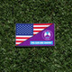 FOR CLUB AND COUNTRY PATCH-USA